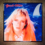 GREAT WHITE Once Bitten Record Cover Art Ceramic Tile Coaster - CoasterLily Tiles