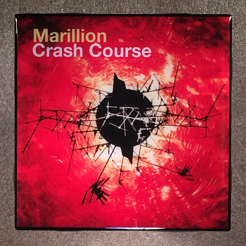 MARILLION Crash Course Coaster Ceramic Tile Record Cover - CoasterLily Tiles