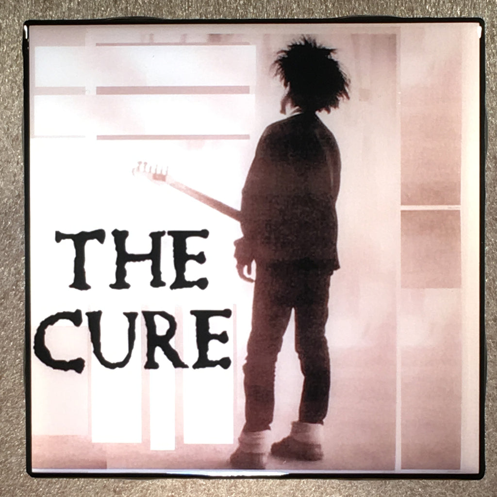 THE CURE In Concert Coaster Record Cover Ceramic Tile - CoasterLily Tiles