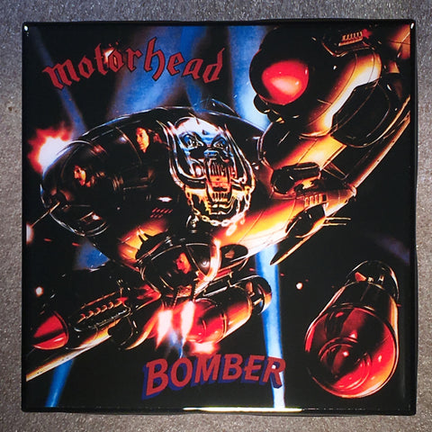 MOTÖRHEAD Bomber Coaster Ceramic Tile - CoasterLily Tiles