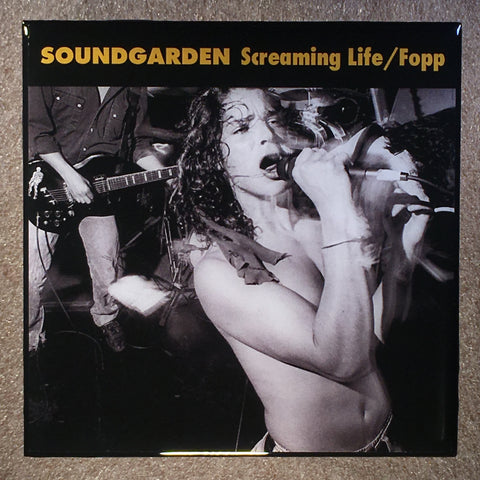 SOUNDGARDEN Screaming Life / Fopp Coaster Record Cover Ceramic Tile