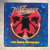 NITZINGER Live Better Electrically Coaster Record Cover Ceramic Tile - CoasterLily Tiles
