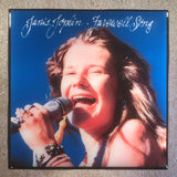 JANIS JOPLIN Farewell Song Record Cover Art Ceramic Tile Coaster - CoasterLily Tiles