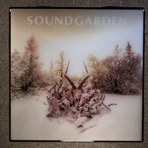 SOUNDGARDEN King Animal Coaster Record Cover Ceramic Tile - CoasterLily Tiles