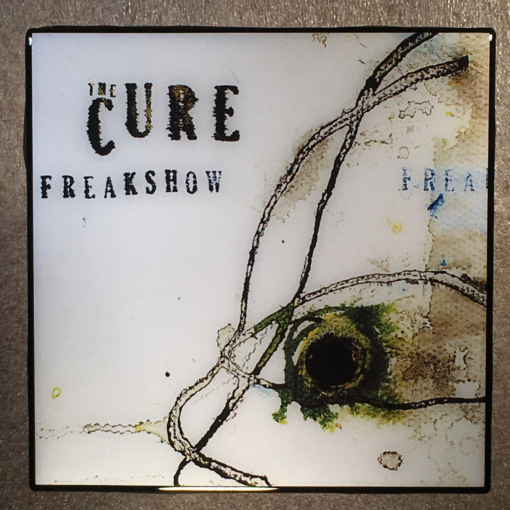 THE CURE Freakshow Coaster Ceramic Tile - CoasterLily Tiles