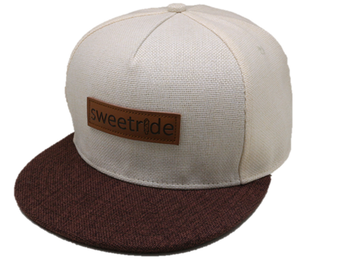 the 'regular' leather embossed snapback