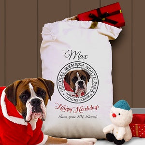 Personalized Christmas Gift Bags for Pets