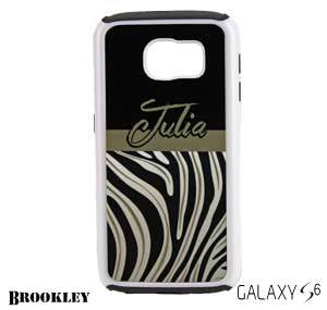 White Brookley Galaxy S6 Protective Case