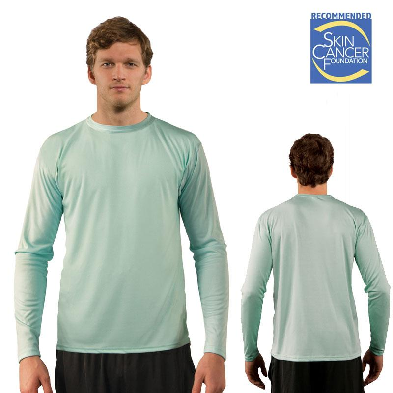 Sublimation Solar Long Sleeve T - Adult - Seagrass - 3XL