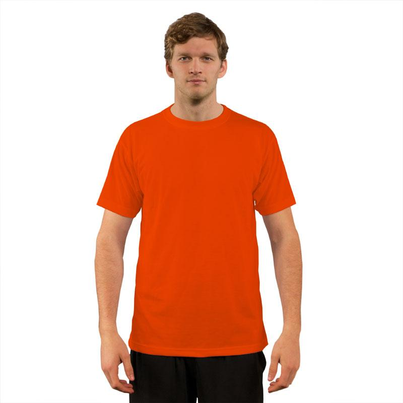 Vapor BasicT Short Sleeve Safety Orange- Large