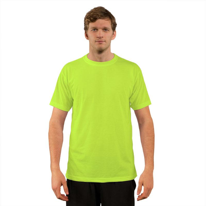 Vapor BasicT Short Sleeve Safety Yellow-Adult 2X
