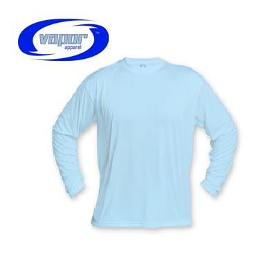 Blue Sky Blue Micro Long Sleeve Tee - Adult 2X