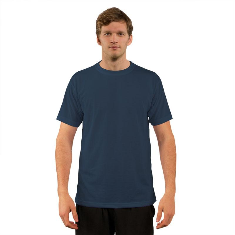 Vapor Basic T Short Sleeve Adult - Pacific Blue - XL