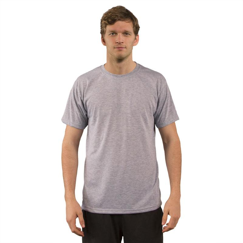 Sublimation Vapor Basic T Short Sleeve Ash Heather - 3XL