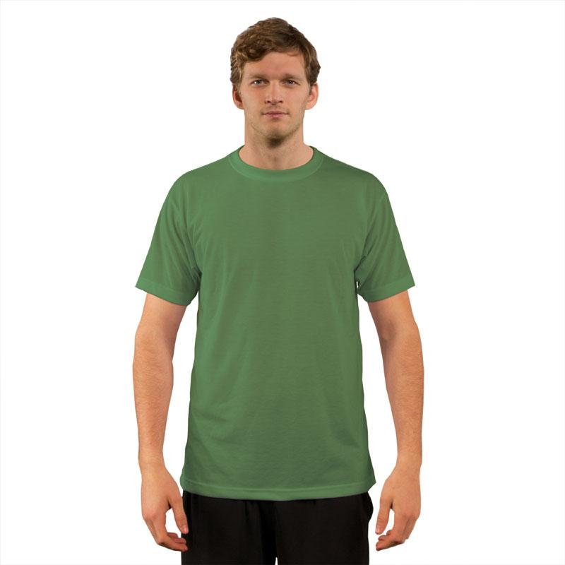 Vapor Adult Basic T - Short Sleeves - Leaf - Small
