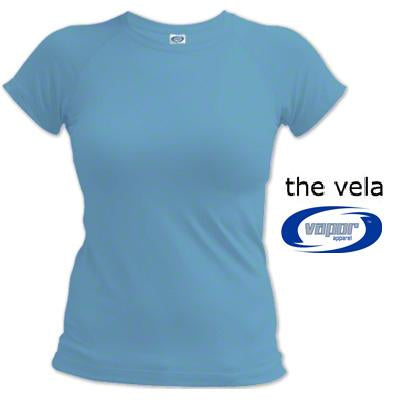 Vapor LadiesSmall HydroVela LooseCompression Shirt - Small
