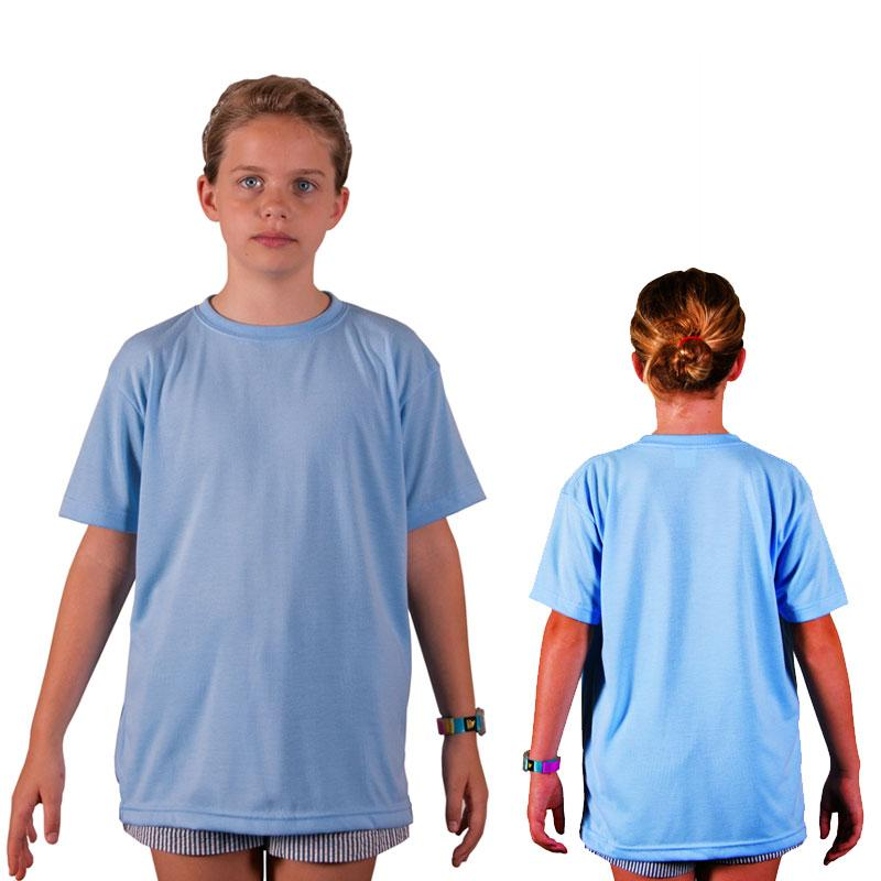 Vapor Youth Short Sleeve Basic T - Blizzard Blue - Large