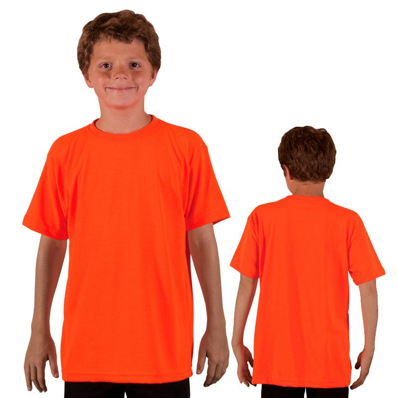 Vapor Youth Short Sleeve Basic T - Safety Orange - Small