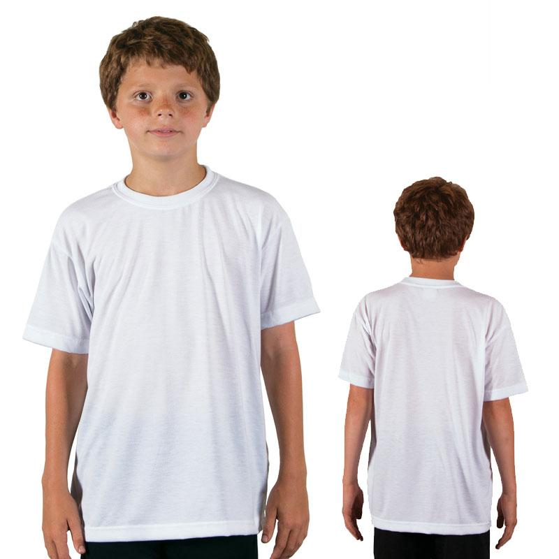 Vapor Youth Short Sleeve Basic T - Brighter White - Medium