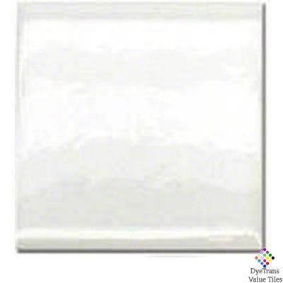 "DyeTrans Sublimation Blank Ceramic Value Tile - 12"" x 12"" - Gloss"