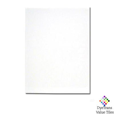 "DyeTrans Sublimation Blank Ceramic Value Tile - 6"" x 8"" - Gloss"