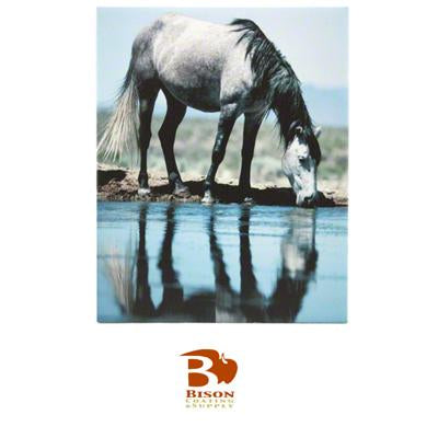 "Bison Sublimation Blank Ceramic Tile - 8"" x 10"" - Matte"