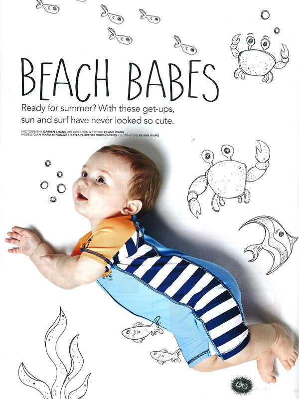 Babies Swimsuits in Young Parents May 2015