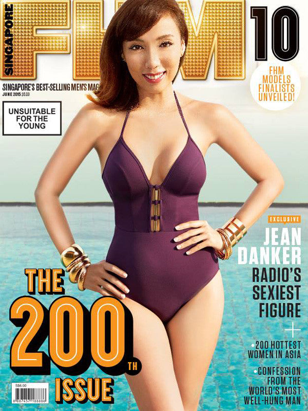 JETS Swimsuit in FHM Singapore June 2015