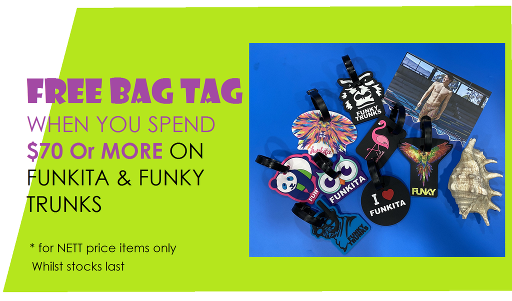 Funkita and Funky Trunks FREE Bag Tag