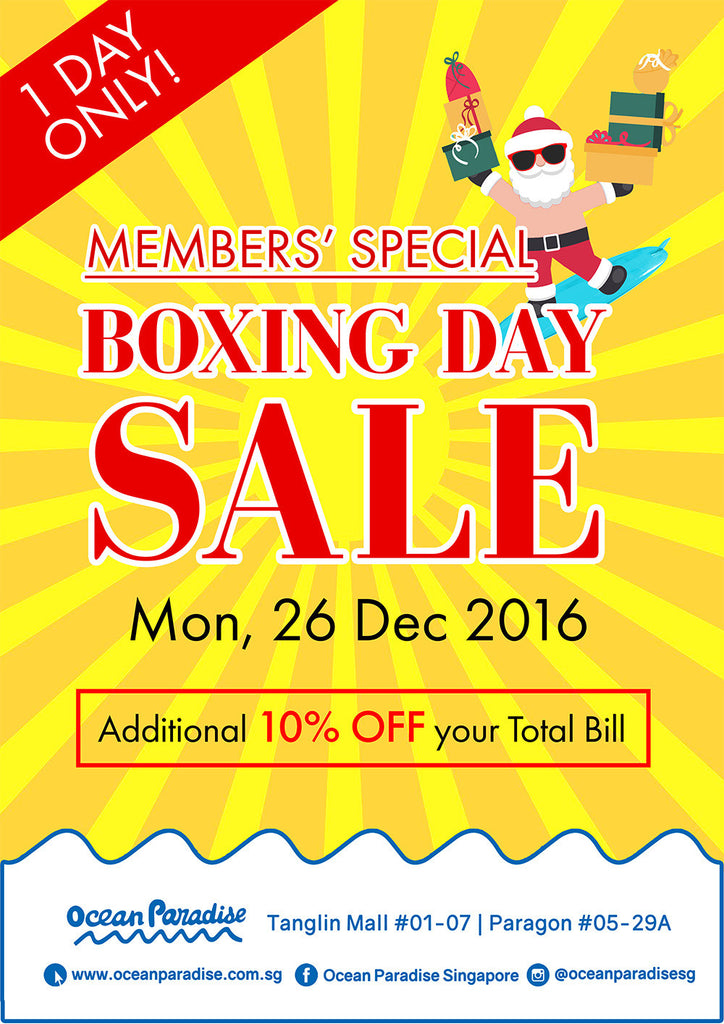 Members' Special Boxing Day Sale