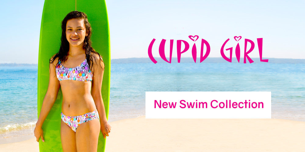 Swimsuits and UV Swimwear for Girls by Cupid Girl