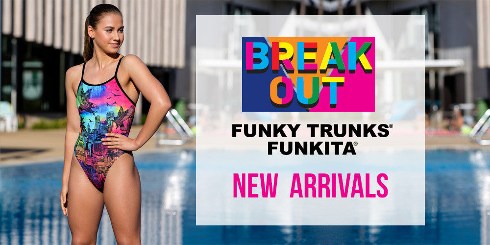 New Competitive Swimsuit Collection: BREAKOUT by Funkita and Funky Trunks