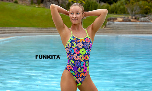 The Colorful Performance Swimwear of Funky Trunks and Funkita