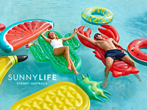 Pool and Beach Party Essentials from Sunny Life