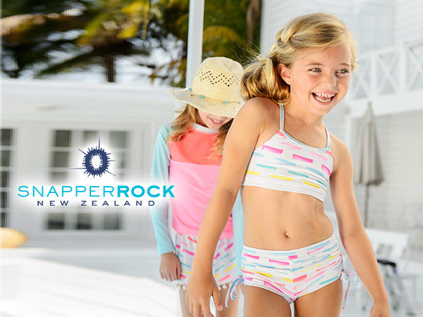 Snapper Rock Children's UPF50+ Swimwear for Singapore!