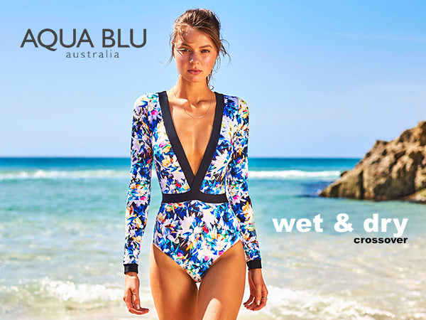 Chase the Sun – in Aqua Blu's New Swimsuit Collection for Women