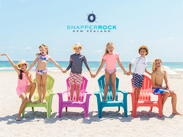 Snapper Rock New UV50+ Swimwear that Every Child and Parent Will Love
