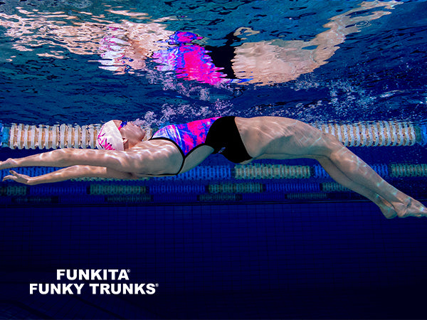 Dive into Speed Stroke Heat II from Funkita & Funky Trunks