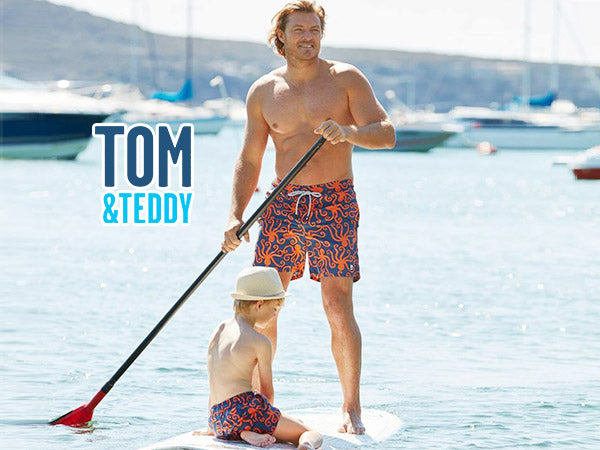 Best DAD Ever! 20% Off Tom & Teddy Father's Day Promotion