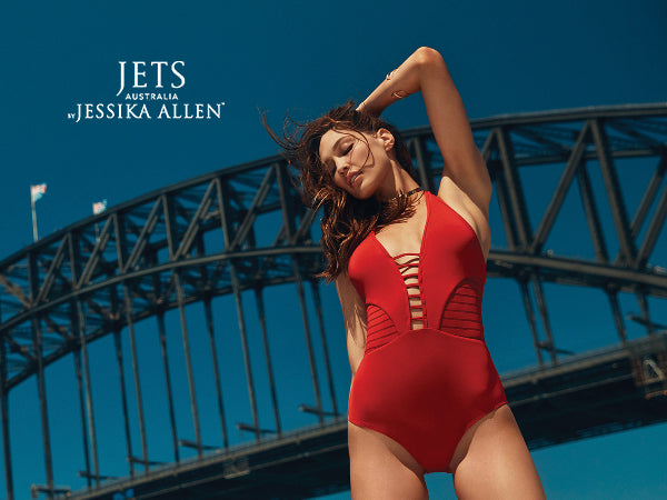 Get Your Poolside Perfect Look from Jets by Jessika Allen