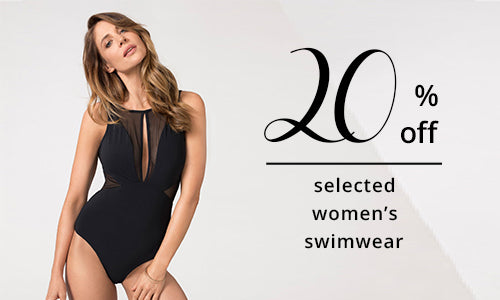 20% Off Selected Women Swimsuits Instore