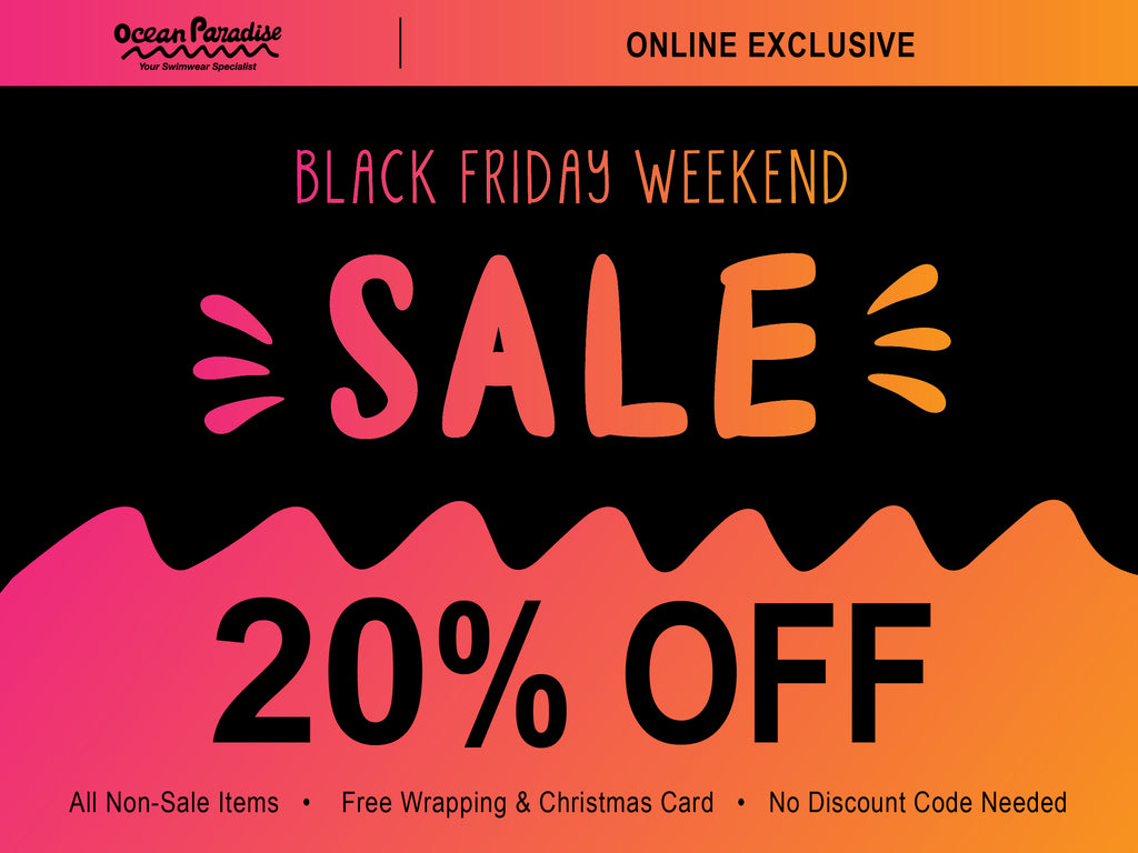 Black Friday Weekend- Online Exclusive