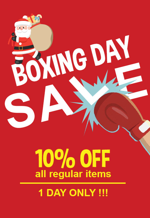 1 Day only! Boxing Day SALE