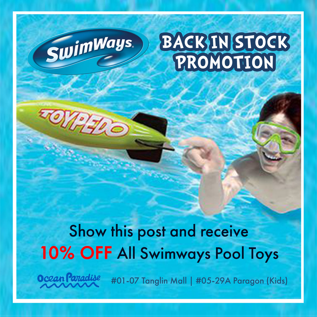 Swimways Back in Stock Promotion!