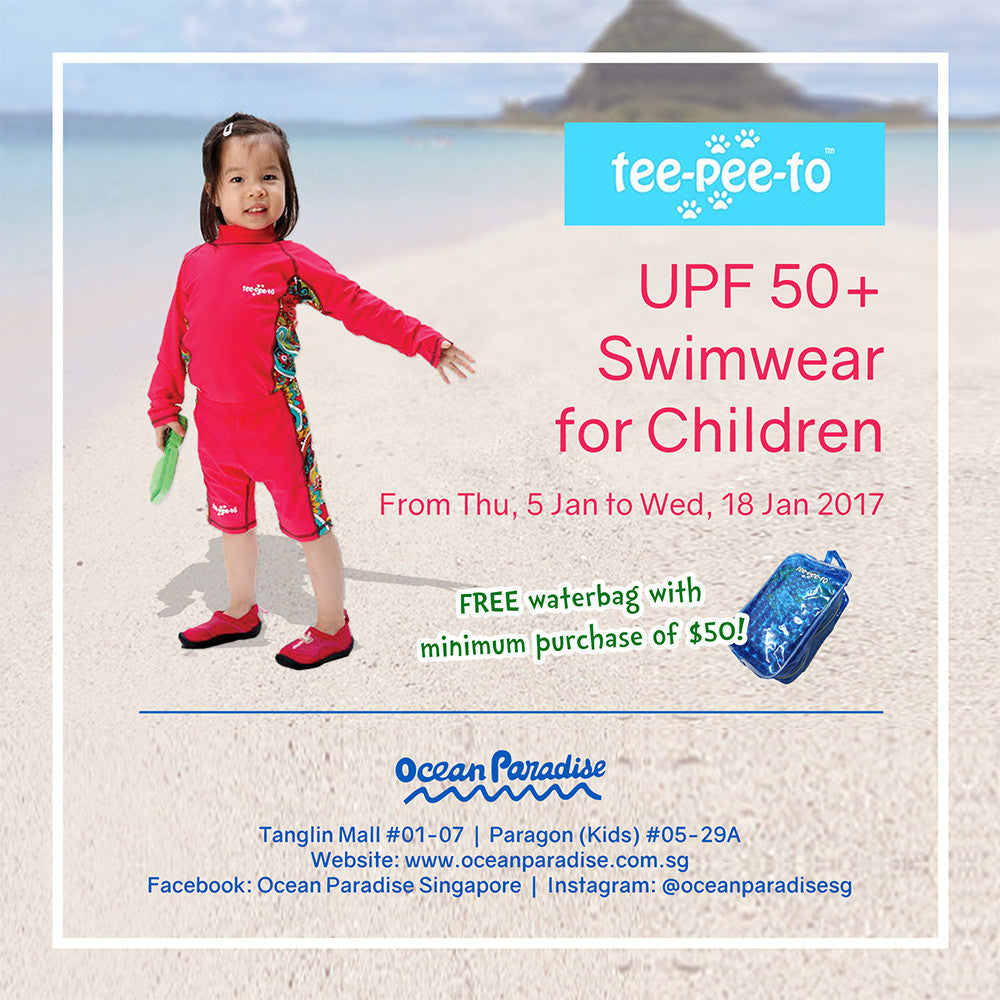 Event: Tee-Pee-To UPF50+ Swimwear for Children