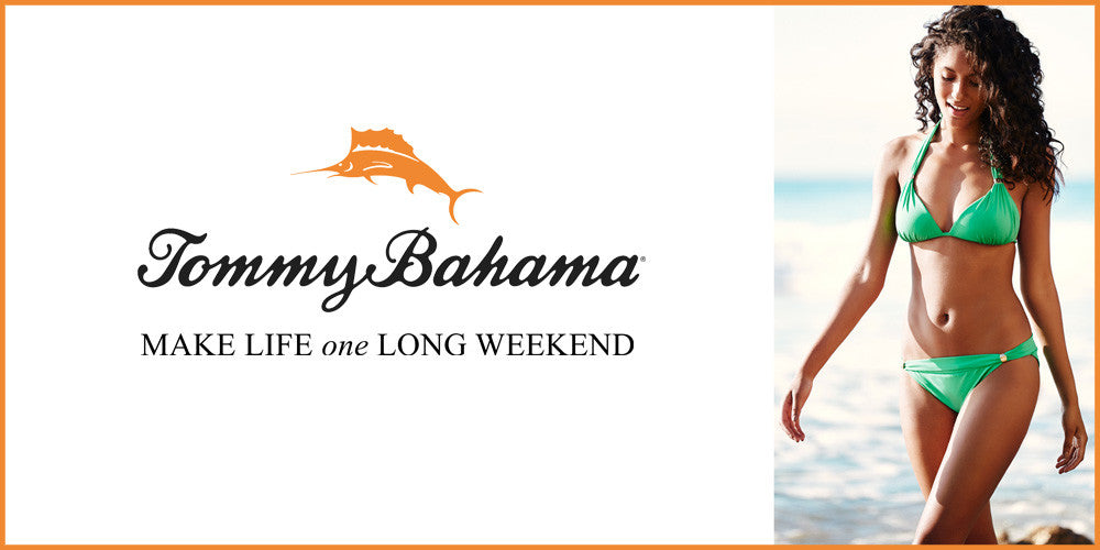 Enjoy the Summer in Tommy Bahama Ladies Swimwear Range