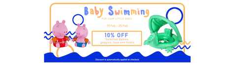 Baby Swimming: Goggles, Pool Toys, Floats
