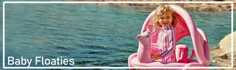 Shop for a great variety of baby inflatables from floats, swim seats, armbands and pools.