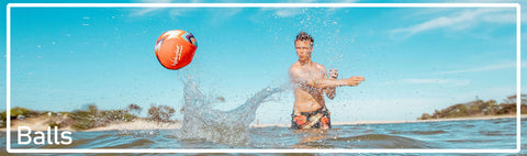 Find inflatable Beach Balls, Swimming Balls and Balls that skip on water in various sizes for adults and kids
