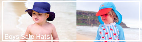 Bucket Hats, Sun Hats, Legionnaire Hats, Swim Hats for outdoors and aquatic sports at discount prices.